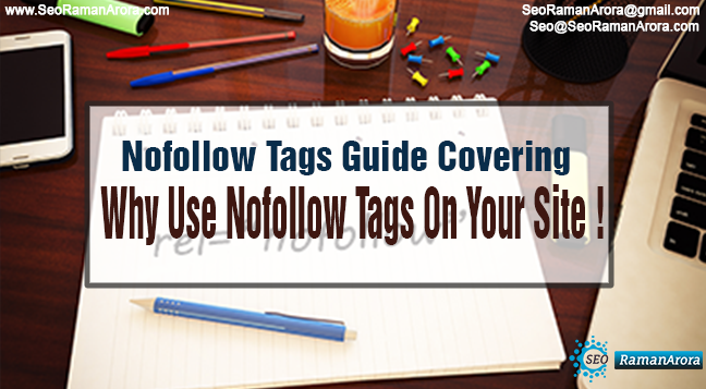 Why Use Nofollow Tags