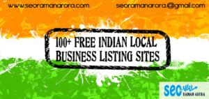 Free Indian Local Business Listing sites
