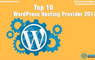 Top 10 WordPress Hosting Provider 2017