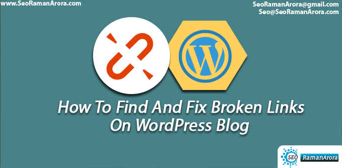 Find And Fix Broken Links On WordPress