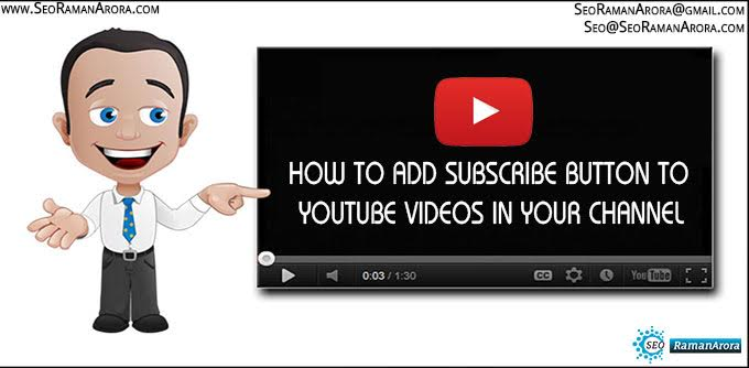 Add Subscribe Button to YouTube Videos