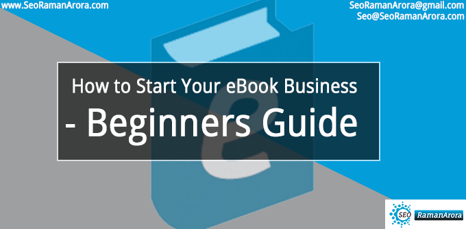 Start Your eBook Business