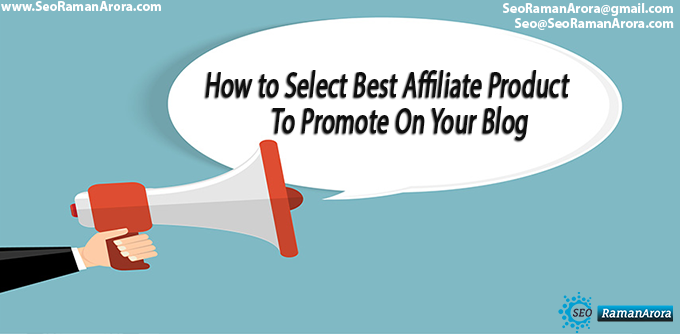 Affiliate Product To Promote On Your Blog