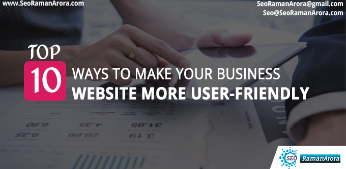 Make Your Business Website More User-Friendly
