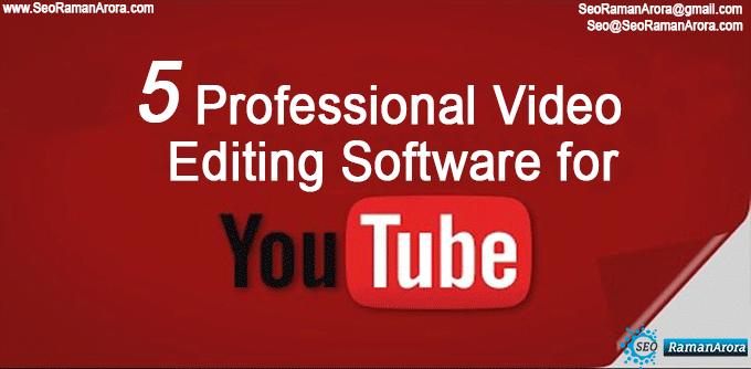 Video Editing Software for YouTube