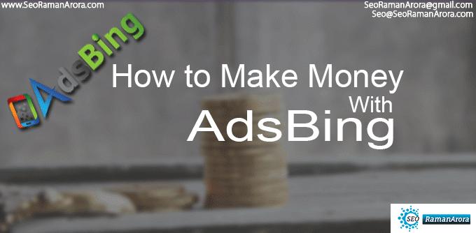 Money with AdsBing Referral Program