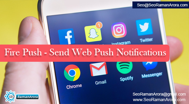 Fire Push - Send Web Push Notifications