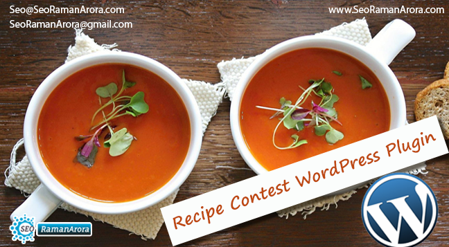 Recipe Contest WordPress Plugin