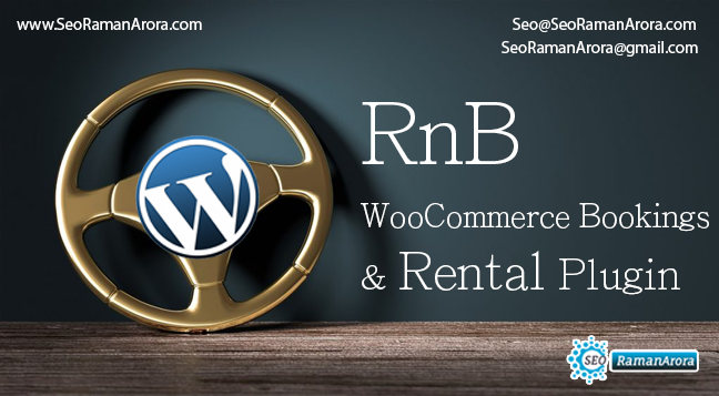 WooCommerce Bookings and Rental Plugin