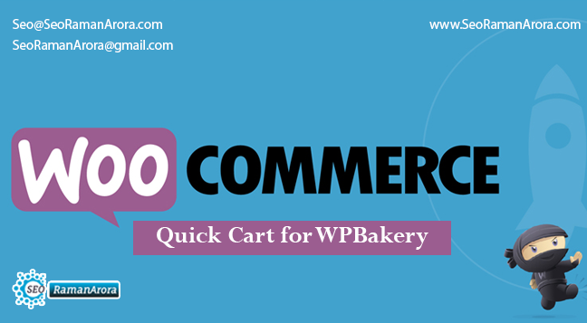 WooCommere Quick Cart For WPBakery