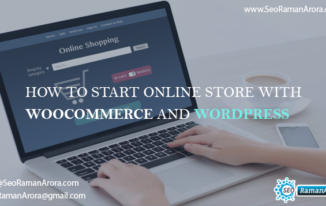 Start Online Store With WooCommerce and WordPress