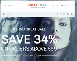 EmaxStore – Multipurpose eCommerce WordPress Theme