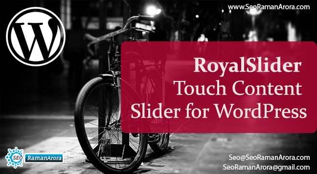 RoyalSlider – Touch Content Slider
