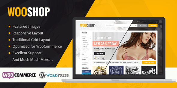 WooShop – WordPress WooCommerce Theme