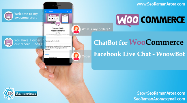 ChatBot for WooCommerce | Facebook Live Chat - WoowBot