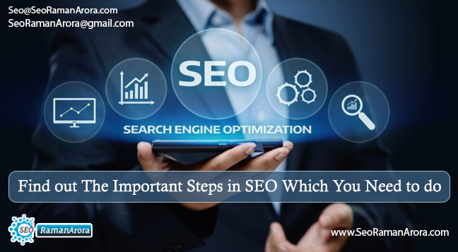 Find out The Important Steps in SEO Which You Need to do