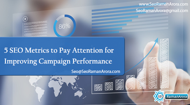 5 SEO Metrics to Pay Attention for Improving Campaign Performance