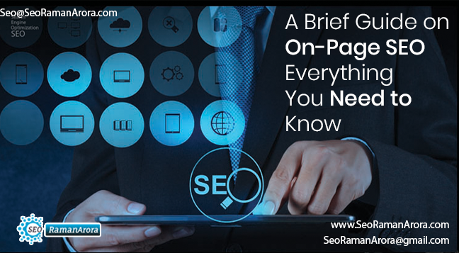 A Brief Guide on On-Page SEO – Everything You Need to Know