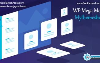 WP Mega Menu - Mythemeshop